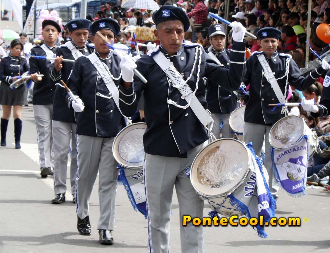 U. E. Atahualpa Desfile del 12 de Noviembre de 2019