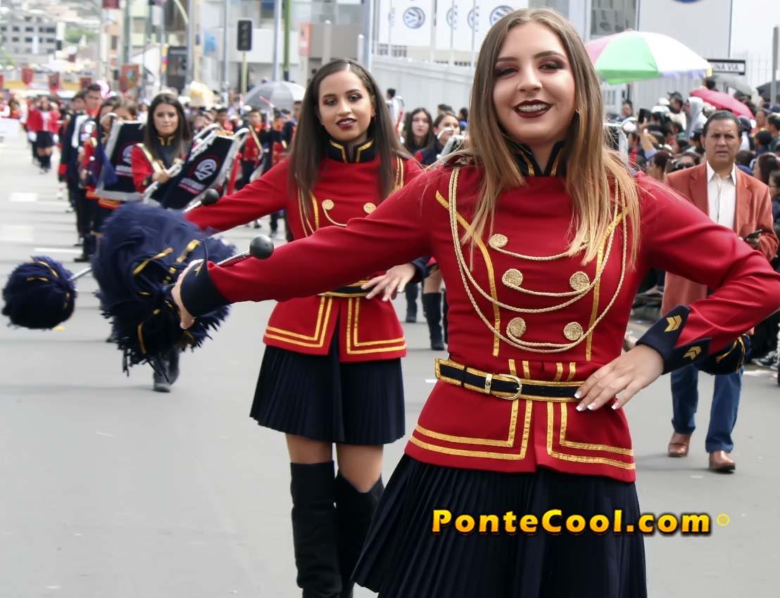 U. E. Atenas Desfile del 12 de Noviembre de 2019