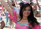 Blanca Martinez de Tinajero Desfile F.F.F. Ambato 2013
