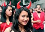 Pregon de fiestas del Colegio Bolivar de Ambato