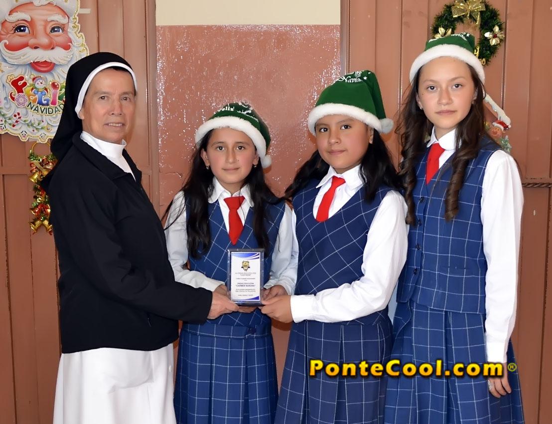 U. E. Carmen Barona Villancicos de Navidad 2019 en Ambato