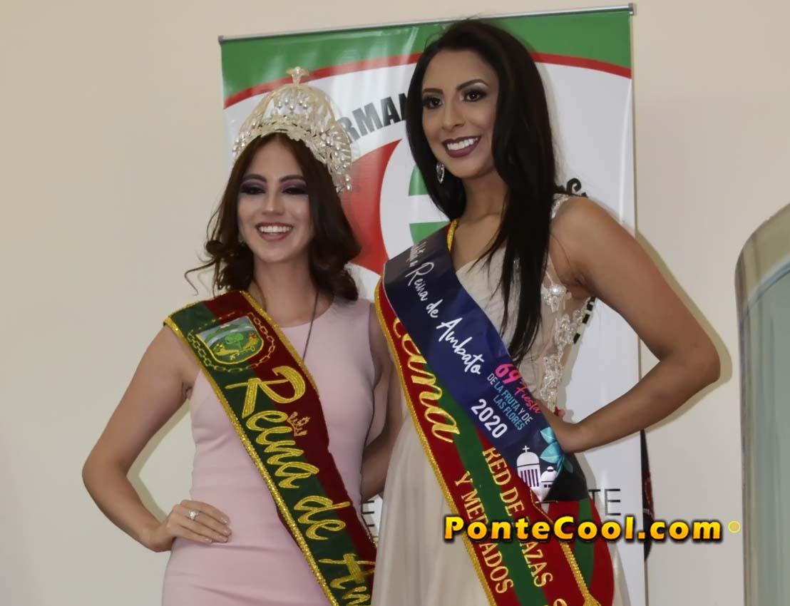 Inscripción de Carolina Sánchez candidata a Reina de Ambato 2020