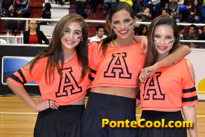 Concurso de Cheerleaders y Cheerdance estudiantil 2016