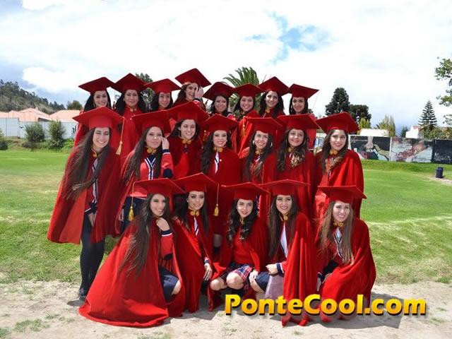 Graduación estudiantes del Colegio Atenas promoción 2016