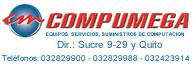 Compumega equipos, servicios, suministros de computacion y oficina