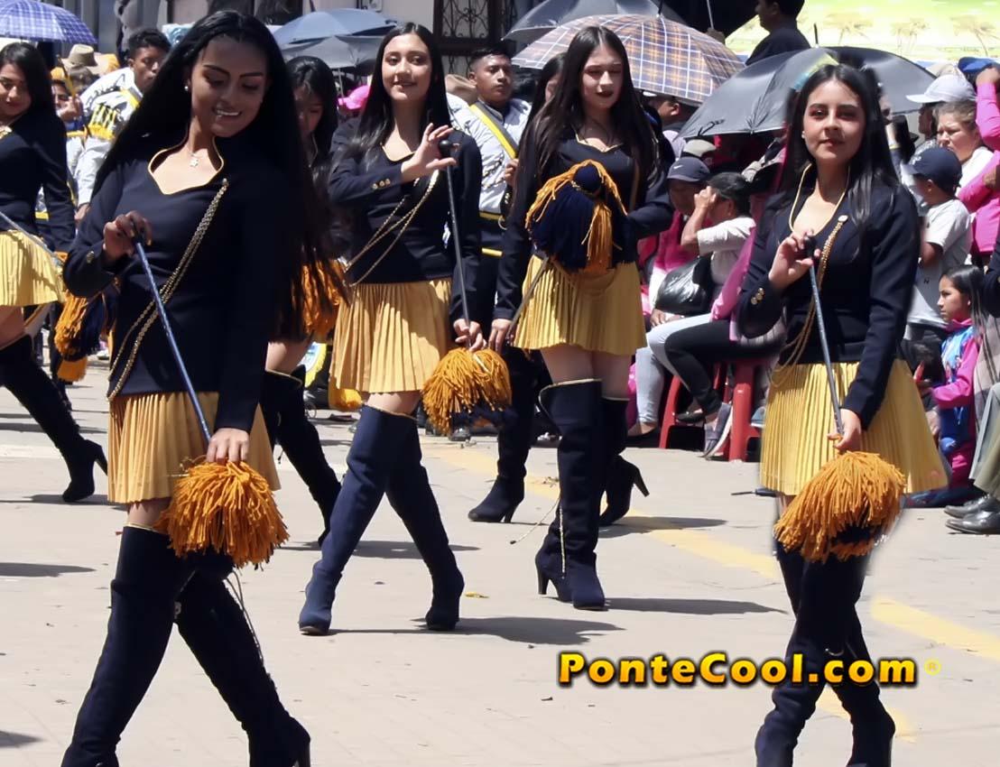 Desfile Cantonización de Tisaleo 2019