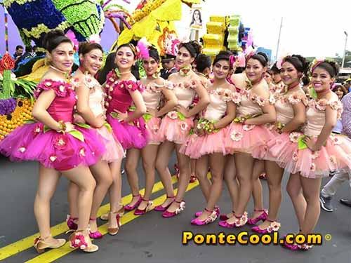 Desfile Fiesta de las Flores y las Frutas Ambato 2019 LXVIII FFF