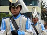 Colegio Guayaquil desfile del 12 de Noviembre del 2011