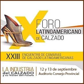 Galeria fotografica del Foro Latinoamericano del Calzado