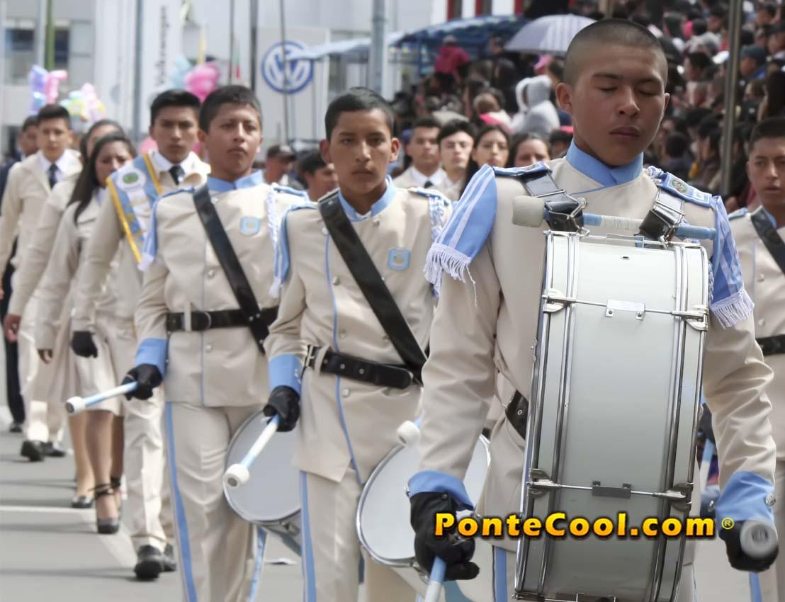 U. E. Guayaquil Desfile del 12 de Noviembre de 2019