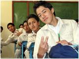 Inicio de clases en el Colegio Guayaquil de Ambato 2011