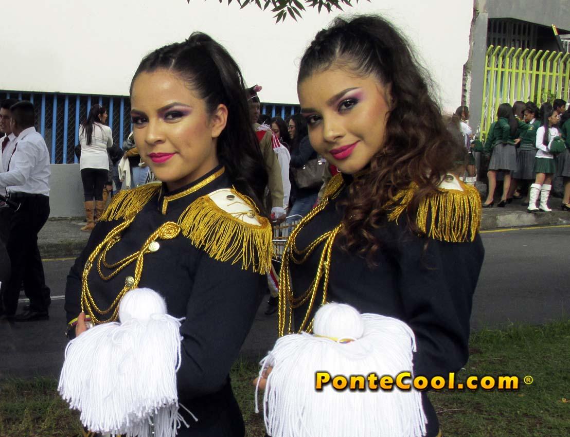 U. E. Hispano América Desfile del 12 de Noviembre de 2019