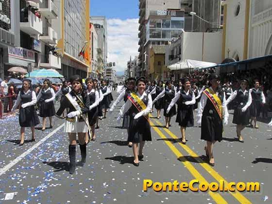 Colegio Hispano América Desfile del 12 de Noviembre de 2016