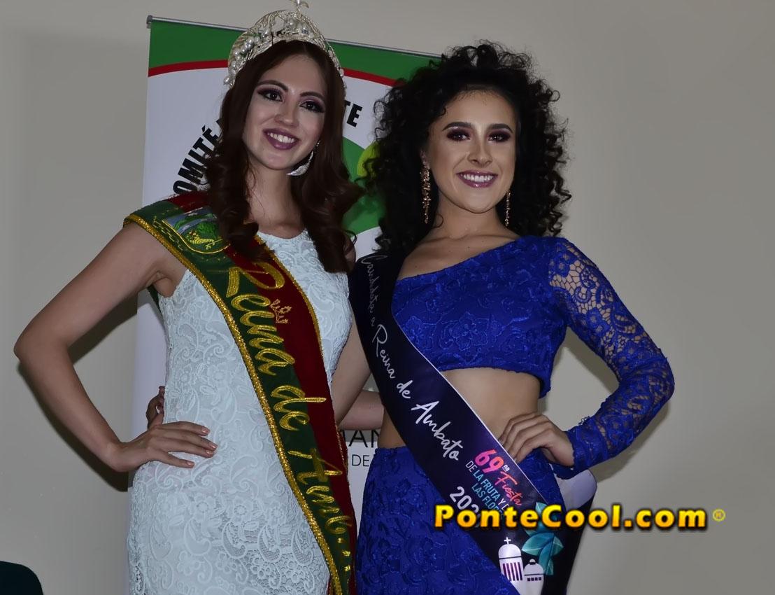 Inscripción de Sheila Escobar candidata a Reina de Ambato 2020