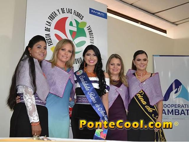 Inscripciones de Candidatas a Reina de Ambato 2018