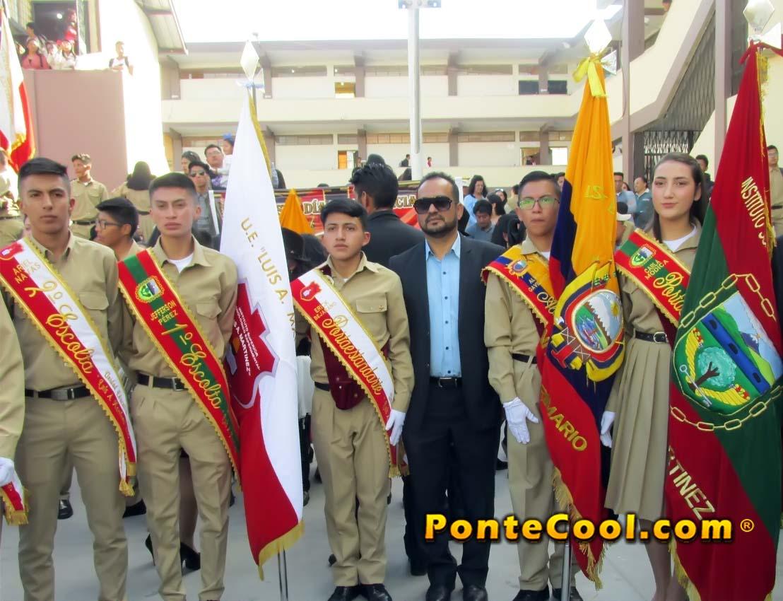 Juramento de la Bandera 2019 en la U. E. Luis A. Martinez