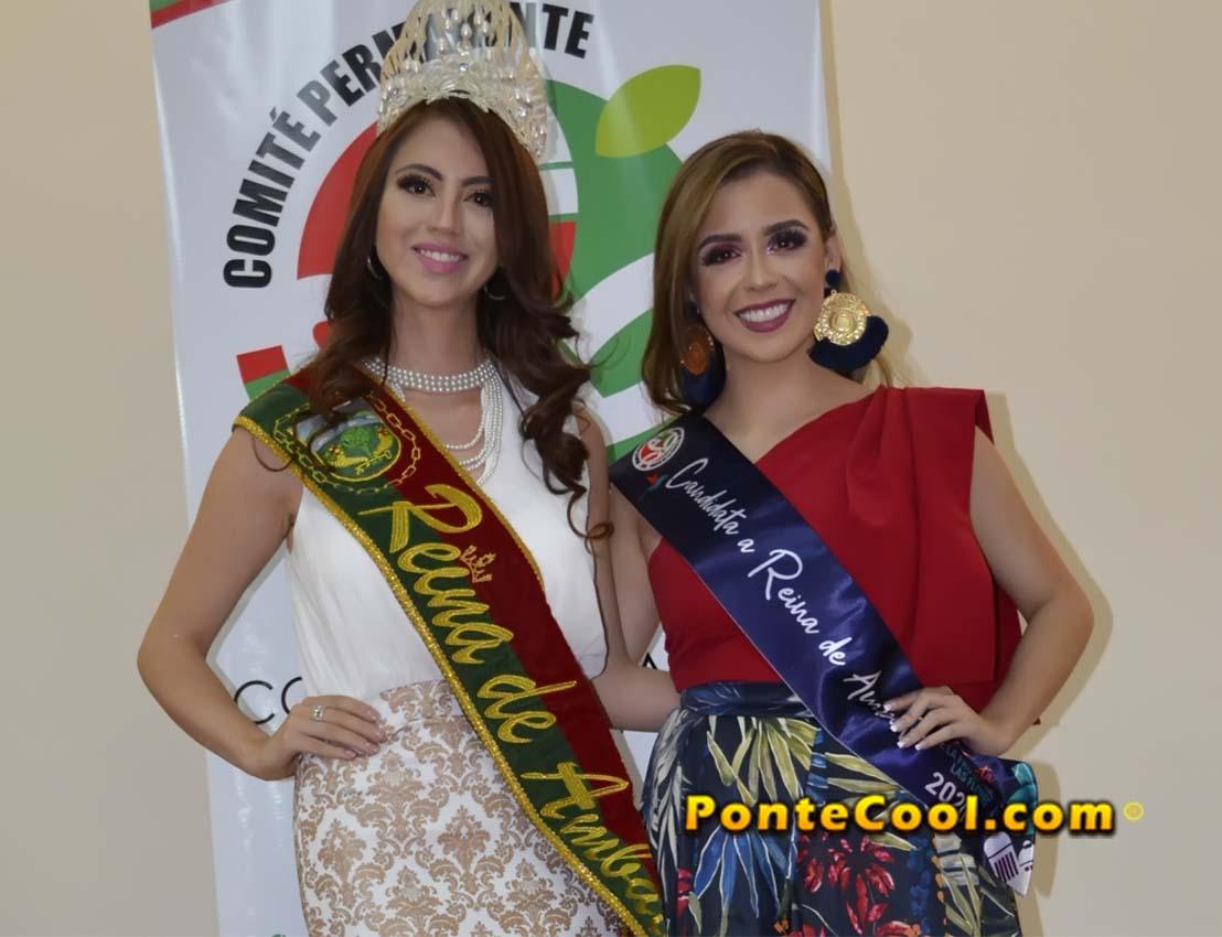 Inscripción de Kimberly Pérez candidata a Reina de Ambato 2020
