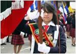 Juramento a la Bandera 2013 Colegio Liceo Pedro Fermin Cevallos