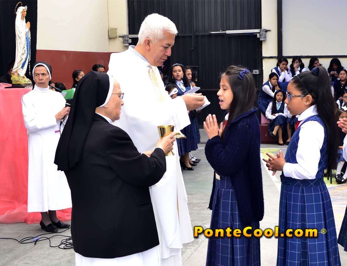 Misa Acción de Gracias 150 años Fundación Orden Hermanas Dominicas U. E. Carmen Barona