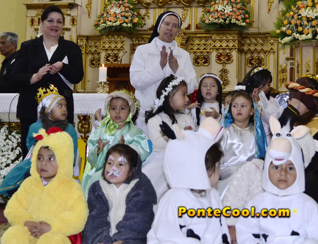 Liturgia de Navidad 2019 U. E. Carmen Barona en la Iglesia de Santo Domingo