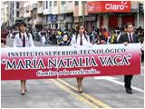 Natalia Vaca Desfile del 12 de Noviembre 2011