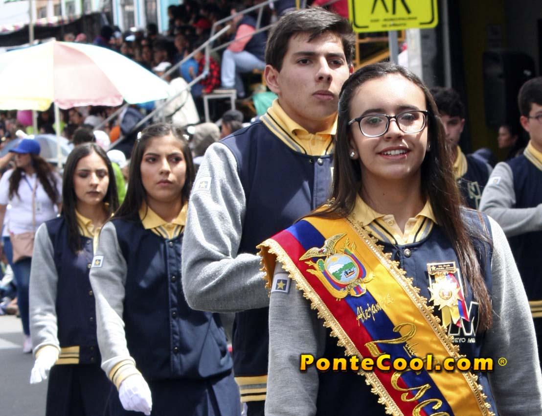 U. E. Nuevo Mundo Desfile del 12 de Noviembre de 2019