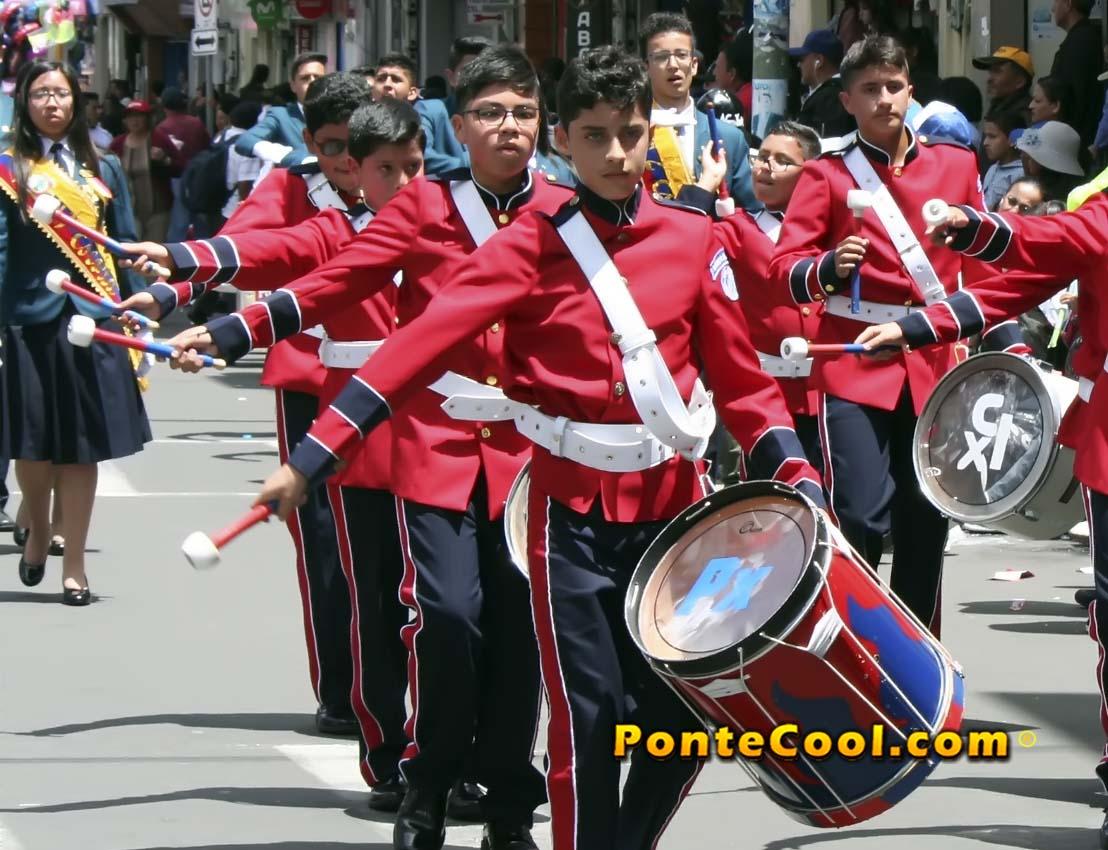 U. E. Pio X Desfile del 12 de Noviembre de 2019