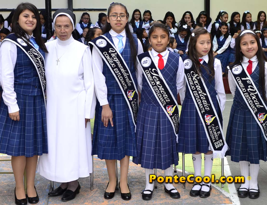 Posesión del Consejo Estudiantil 2019 - 2020 U. E. Carmen Barona