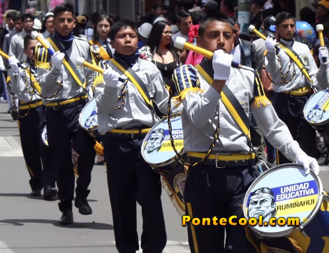 U.E. Rumiñahui Desfile del 12 de Noviembre de 2019