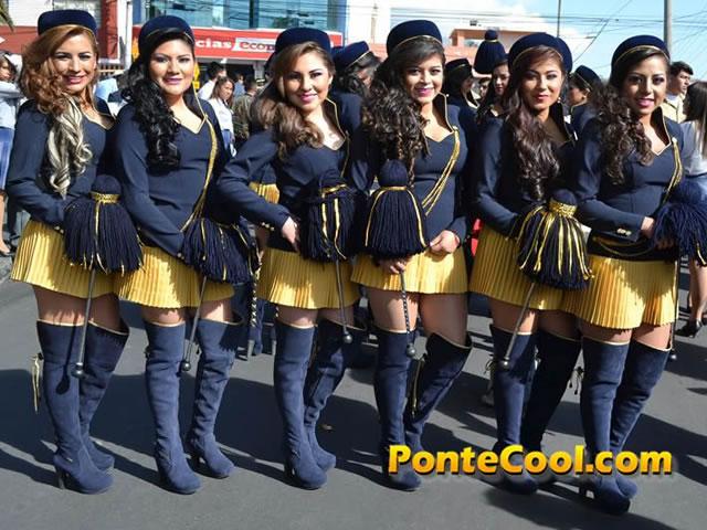 Colegio Rumiñahui Desfile del 12 de Noviembre de 2016
