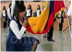Colegio Santo Domingo de Guzman Juramento a la Bandera 2013