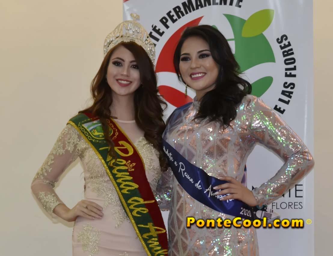 Inscripción de Daniela Castro candidata a Reina de Ambato 2020