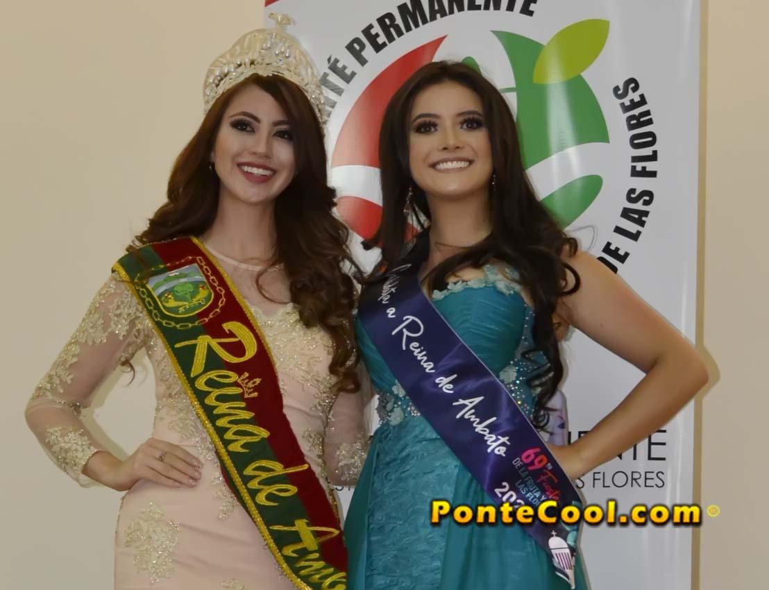 Inscripción de Laura Palacios candidata a Reina de Ambato 2020