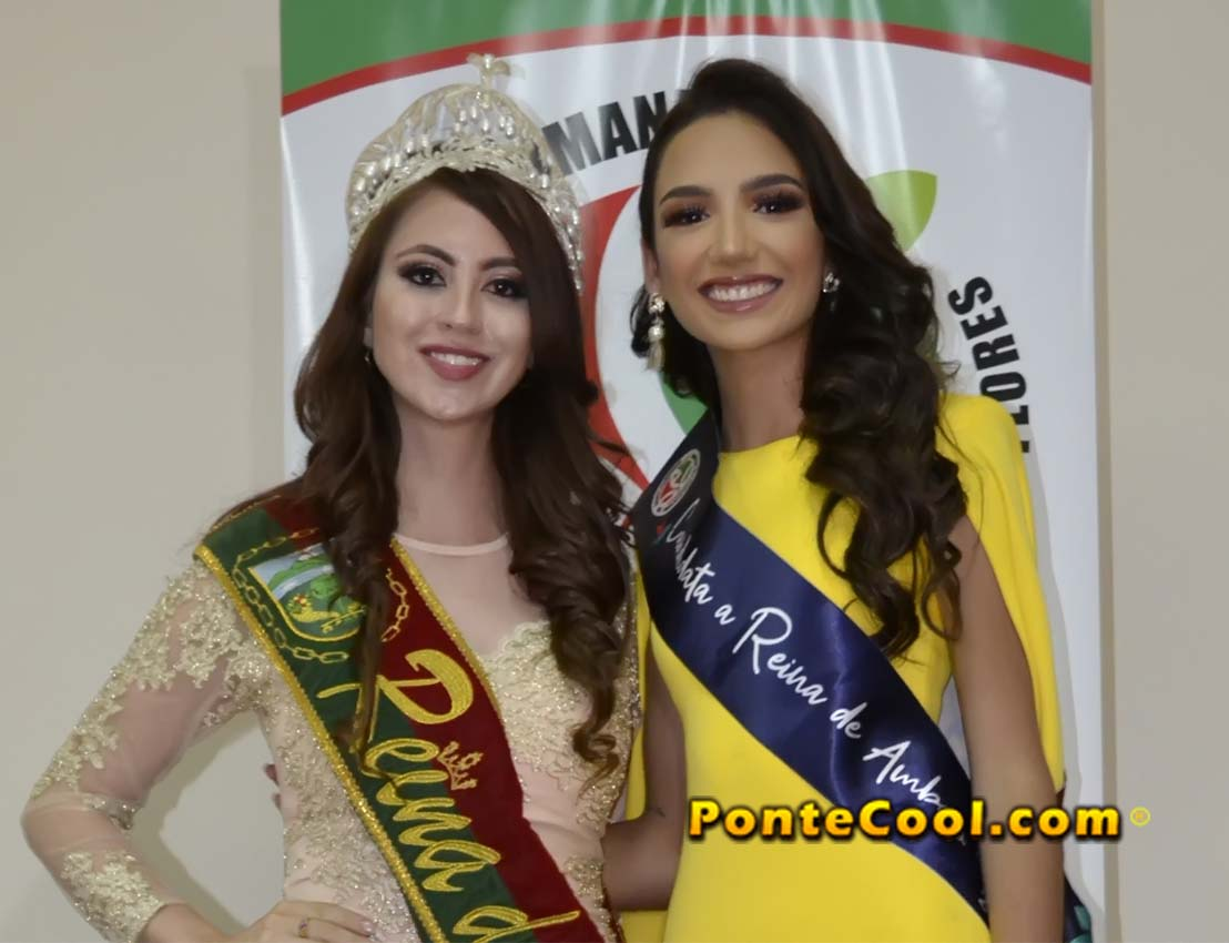 Inscripción de María Alvarado candidata a Reina de Ambato 2020