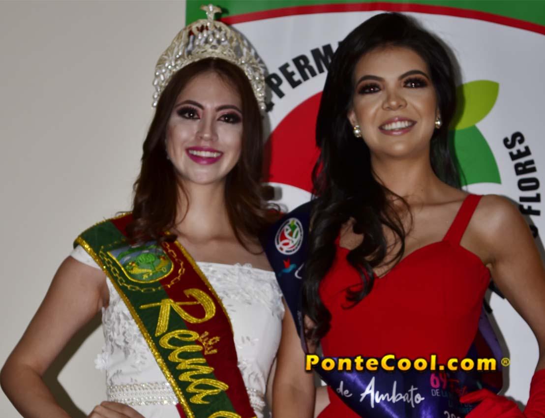 Inscripción de Stephanie Díaz candidata a Reina de Ambato 2020