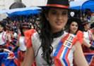 Colegio Inmaculada Desfile Fiesta de la Fruta y de las Flores Ambato 2012