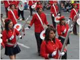 Desfile Civico Militar por el 12 de Noviembre en Ambato
